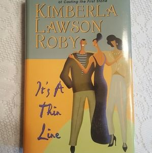 IT'S A THIN LINE KIMBERLA LAWSON ROBY HARDCOVER